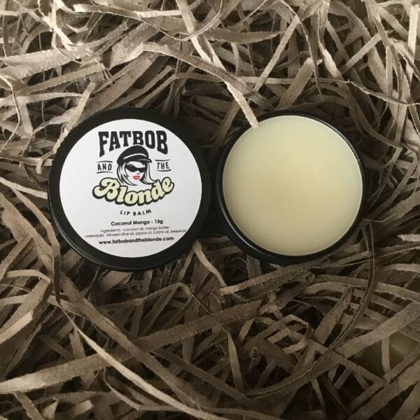 lip balm - coconut mango