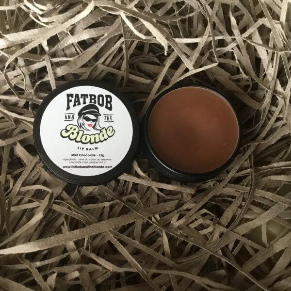 lip balm - mint chocolate